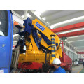 OUCO 25T Foldable Boom Truck Mounted Cranes With Remote Control