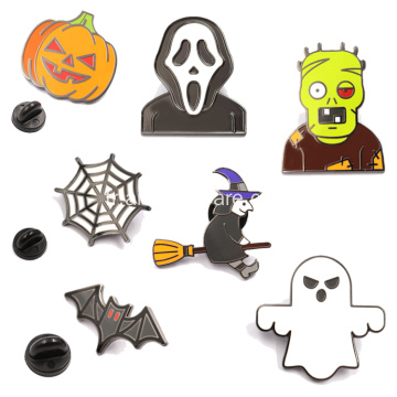 Épingles squelette Badges de décoration d'Halloween