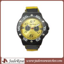 Relógio de couro impermeável para homens Relógio 2014 relógio de pulso de design