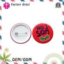Presente de Natal Guangdong Pin Tin Botão Crachá para Crianças