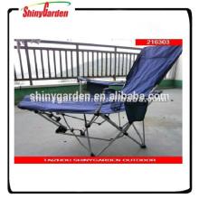 beach deck chair with leg supporter