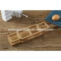 Bambu, cozinha, cerâmico, cruet, jogo, bambu, prateleira