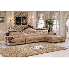 Europe Leather Sofa, Living Room Furniture, Sofa (SA31)
