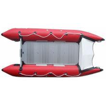 Fiberglass Cone Inflatable Boat PVC Speed Boat