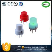 Interruptor redondo do toque do silicone da estrutura do interruptor de 8mm (FBELE)
