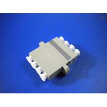 LC/PC Mm Quad Fiber Adapter