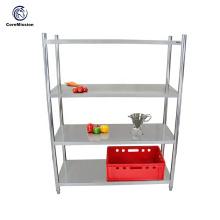 Estantes de acero inoxidable para rack de almacén personalizados