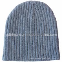 Popular Stretchable Knit Style 100% Acrylic Warm Beanie (TMK0273-1)