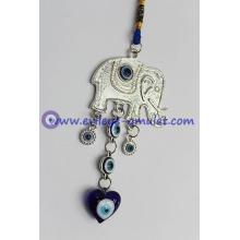 Evil Eye Amulet Lucky Elephant Amulet or Car Hanging Decoration Ornament