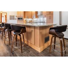 Expositor de cozinha de madeira maciça estilo shaker