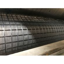 Bersalut poliester Geogrid dengan Spunbond Nonwoven Geotextile