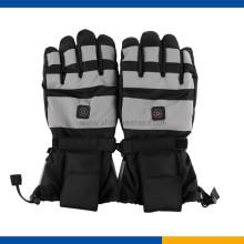 Winddichte, wiederaufladbare beheizte Handschuhe