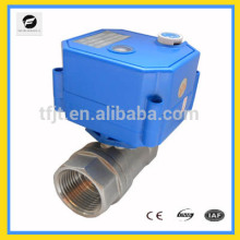 """1/2"""" CWX 2-Way SS304 Electronic motor shut off Valve For Hot Water System"""