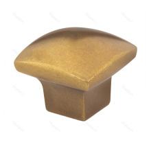Gold Finish Square Kitchen Cabinet Drawer Knob
