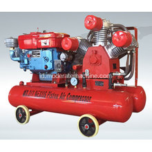 Diesel Mengemudi Mini Piston Air Compressor