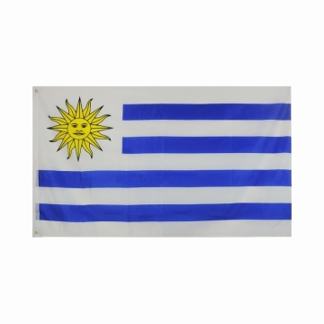 150x90cm Polyester Uruguay Flagge