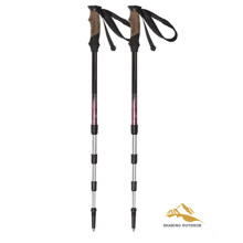 Light weight 55-125CM Folding Alpenstocks