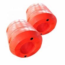 Ciervos Dragado de flotadores de tuberías Flotabilidad de tuberías con accesorios fijos