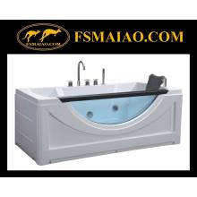 Bañera de masaje de acrílico Fashional con vidrio (BA-8606)