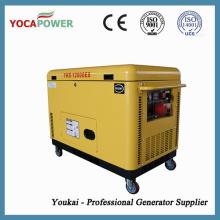 10kVA portátil de aire refrigerado motor diesel generador eléctrico de generación de energía