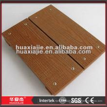 patio wood-plastic composite decking/ garden decking