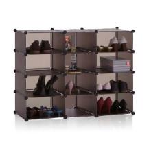 Peut contenir beaucoup de stockage de stockage de stockage de cube de chaussures de mur (FH-AL02815)