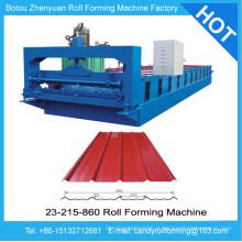 Telha de telhado de alumínio que faz a máquina, máquina de ondulação de alumínio na China