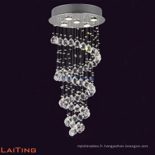 lustre en cristal de lustre de lustre, lustre en cristal long LT-91008