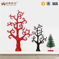 Custom resin tree felt christmas decoration for sale