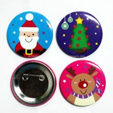 Distintivo de botão de alfinete de sublimação de lapela