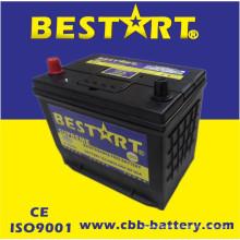 Bateria superior JIS 75D26r-Mf do veículo de Bestart Mf da qualidade 12V65ah