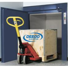Type de plancher Petites marchandises Cargo Dumbwaiter Elevator
