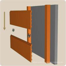 Крытая панель стены широко использованы в кухнях 192*34мм