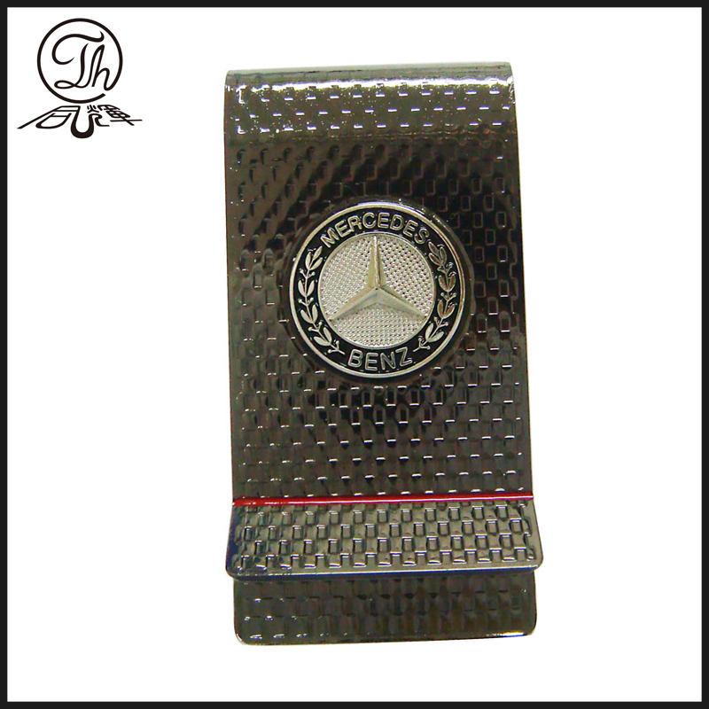 Womens diamond magnetic money clip wallet