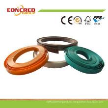 Eoncred Производство твердых и деревянное зерно цвета Кольцевания края PVC