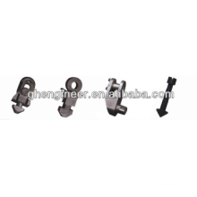 lock heads of container spreader