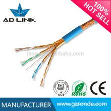 Alto desempenho e melhor preço cat7 plenum cabo de rede
