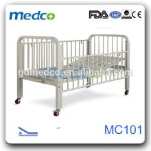 Medco MC101 Hopsital seguro CE criança manual camas ajustáveis crianças