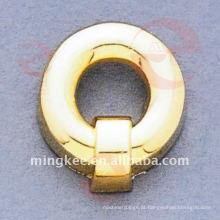 Acessórios decorativos da bolsa de ouro-círculo-fivela (O34-662A)