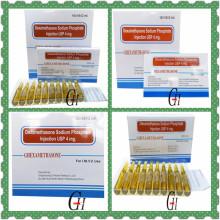 Hormona Dexametasona Sodio Fosfato Inyección