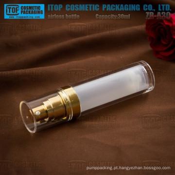 ZB-A30 30ml das camadas dobro clássicas limpar garrafas acrílico loção sem ar