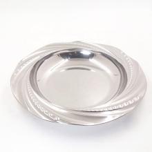 """Barato espejado 8 """"placas redondas de sopa profunda de acero inoxidable para la venta"""