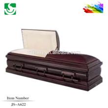 comprar comercio madera sólida A622 JS entierro ataúdes de seguridad proveedor