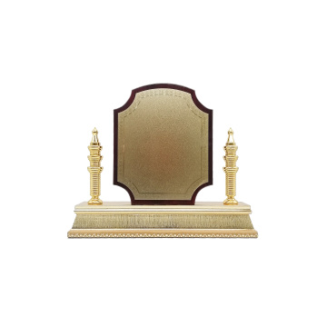 placa de madeira com base w-23