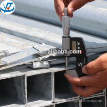 """tubulação de aço galvanizada preto do carbono / tubo 6 """"tubulação quadrada"""