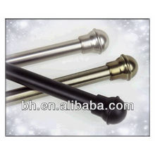 real gold paint,painted curtain rod,antique gold paint finish