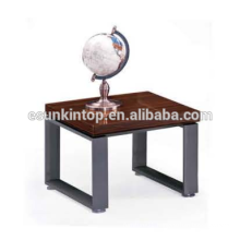 Stylish coffee table design for office red zebra and deep iron finishing, Fashional office furniture for sale (JO-4034-06)