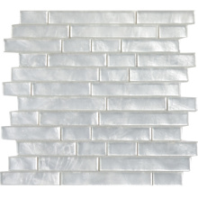 Home Application Country Cottage Subway Pure White Glass Tile