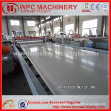 Wood powder+PVC powder composite machine/WPC PVC foam board machine