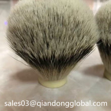 Handmade Silvertip Badger Hair Shaving Brush Knot